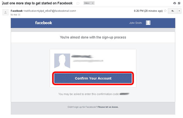 how to create separate facebook accounts